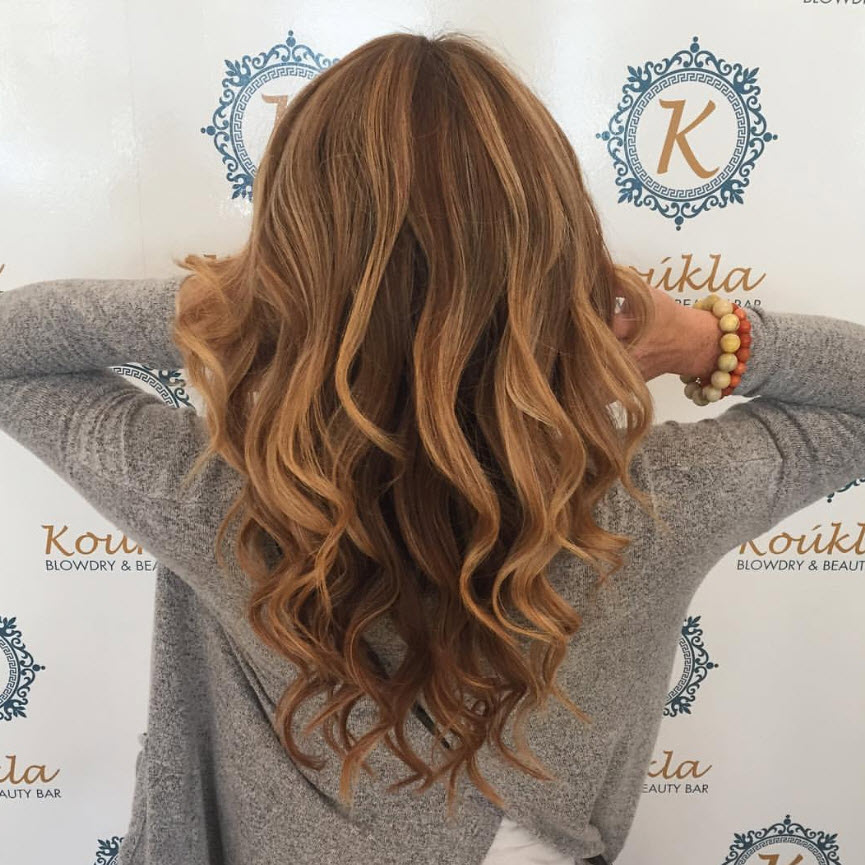 cut and color at Koukla