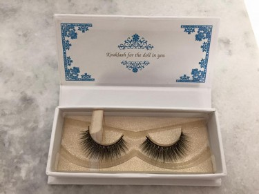 Maria now offers eyelashes